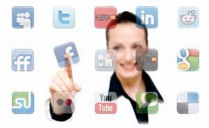perfil empresaria redes sociais
