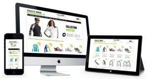Tipos de site - site e-comerce
