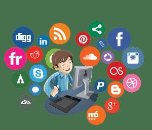 gestão e o monitoramento das redes sociais