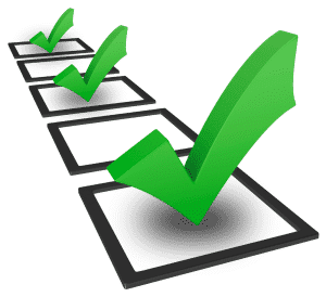 checklist vírus
